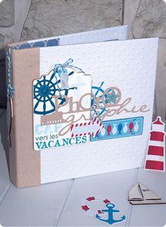 Le Mini Album «Cap vers les Vacances» de TOGA et son tuto