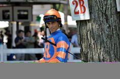 John Velazquez (1971-) has a ongoing career that started in 1990; he has amassed 27,975 mounts, 5,056 wins and a winning percentage of 18%. In 2004 and 2005 he was both the U.S. Champion Jockey by earnings and the Eclipse Outstanding Jockey; in 2009 he was the recipient of the George Woolf Memorial Jockey Award. All of his totals are current as of August 2013. John Velazquez was inducted into the Hall of Fame in 2012.