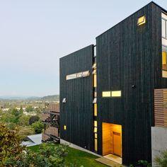 Warm modern - Favorite Home Exterior Designs - Sunset