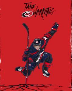 "Carolina Hurricanes on Instagram: ""A Surging T̶h̶o̶r̶ Brock!! #TakeWarning"" Hockey Memes, Hockey Baby, Carolina Hurricanes, Wall Papers, Hockey Players, Nhl, Tattoo Ideas, Superhero, Guys"