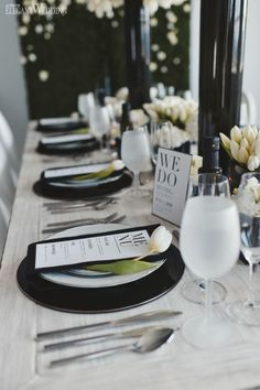 Anyone whose a fan of clean, crisp lines and sharp contrast can set aside their mood boards now. This black and white wedding theme is everything you can...