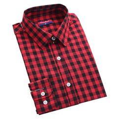 Originální dámská kostkovaná košile – červenočerná – Velikost L Na tento  produkt se vztahuje nejen zajímavá 13cd07d183