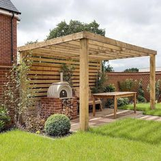 39 Perfect Garden Fence Decorating Ideas You Can Try Best Picture For Pergola architecture For Your Taste You are looking for something, and it is going to tell you exactly what you are looking for, a Backyard Pergola, Pergola Plans, Backyard Landscaping, Pergola Kits, Pavers Patio, Pergola Roof, Cheap Pergola, Small Pergola, Modern Pergola
