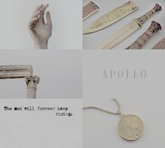 "Artemis & Apollo 2/2: ""his was the sun, hers the moon; his the domesticated flocks, hers the wild, untamed animals; he was the god of music, she was the inspiration for round dances on the mountains. """
