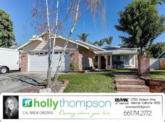 Homes for Sale in Saugus, CA Brought to you by Holly Thompson of REMAX of Santa Clarita: 27716 Crookshank Dr – Single Story Charmer with Backyard Oasis!  For more information on this listing or to view all of my listings, go to www.SVCHolly.com or contact me today at 661-714-2772 with any questions or to see this home!