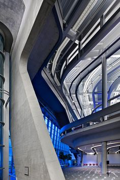 With concrete, clean lines, and futuristic design, This is by far one of the most beautiful buildings I have seen.    (BMW plant Leipzig, Germany  architectural photographer Ales Jungmann)