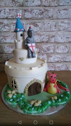 St georges day cake