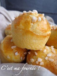 La vraie brioche au beurre (celle qui sent bon la boulangerie...) CMF