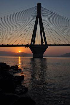 Rio-Antirio bridge Πάτρα-Greece