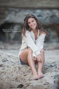 Beach Senior Portrait Headshot Portrait Photographer San Diego California Torrey Pines La Jolla Laguna Del Mar
