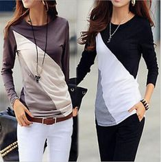 031f112b01cf Women Casual Tops T-Shirt Loose Fashion Lace Blouse Cotton Blouse Long  Sleeve   Blouse