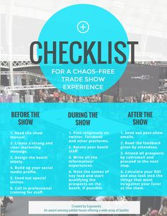 All set for the main day? Go through this checklist so you won't have regrets later #eventprofs #infographic
