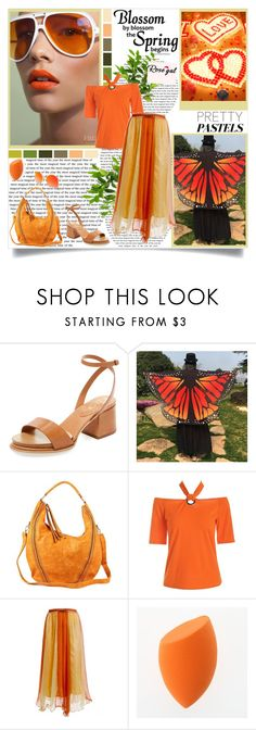 """RoseGal 83"" by followme734 ❤ liked on Polyvore featuring Tod's and Seed Design"