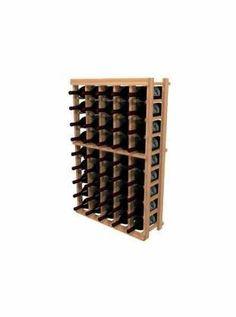 WineMaker Series Wine Rack - 5 Column - 3 Ft - Pine Unstained