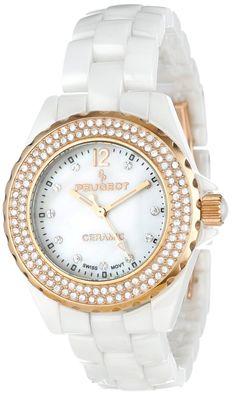 women s watches  Best white watches online Peugeot Women s 4892 2ca707cae8f4