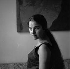 Eva Hesse. Link to bio http://www.hauserwirth.com/artists/34/the-estate-of-eva-hesse/biography/