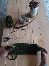 Marikari: Gebreide haarband met patroon Cross Stitch Alphabet Patterns, Bandana, Shawl, Projects To Try, Crochet, Womens Fashion, Diy, Cowls, Knitting Patterns