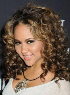 Medium Natural Curly Hairstyles 2013