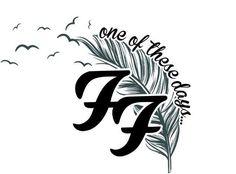 Tattoo Music Rock Foo Fighters 40 New Ideas Foo Fighters Nirvana, Foo Fighters Dave Grohl, Lyric Tattoos, Tattoo Music, Tatoos, Tattoos Pics, Dave Grohl Tattoo, Letras Tattoo, Rock Poster