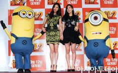 Taeyeon and Seohyun attend 'Despicable Me 2' premiere
