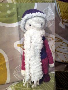 Doll mod mady by Brigitte S. / based on a crochet pattern by lalylala