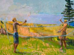 Island Badminton - louise Bourne
