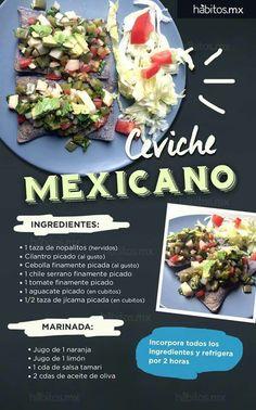 Ceviche mexicano