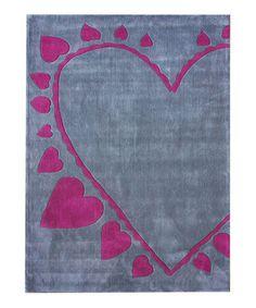 Keno dots purple rug