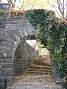 Arch. Ft Tryon Park, NYC