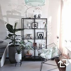 The by JaimyInterieur get a nice place in our # VITTSJÖ … - Home Accessories Best of 2019 Home Living Room, Interior Design Living Room, Living Room Decor, Bedroom Decor, Interior Livingroom, Kitchen Interior, Room Inspiration, Interior Inspiration, Ikea Vittsjo