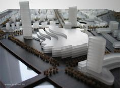 Архитектурный макет - балтийская жемчужина