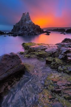 ~~Slipping Away ~ Tapia de Casariego,  Asturias, Spain by AvailableLight~~