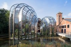A/N Blog . Heatherwick Studio Bends Glass and Steel for Gin Maker