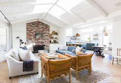 AMBER INTERIORS Before + After // Client Oh Hi Ojai