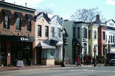 #ridecolorfully Georgetown, D.C. for some fancy clothes and accessories, and a meal at Citronelle!