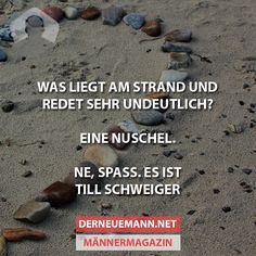 Was liegt am Strand ... #derneuemann #humor #lustig #spaß