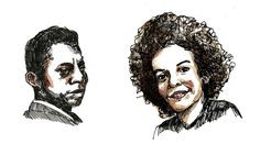 James Baldwin and Nikki Giovanni's Extraordinary Forgotten Conversation About the Language of Love and What It Takes to Be Truly Empowered (Illustration by Wendy MacNaughton for Brain Pickings)
