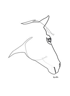 picasso one line drawing - Google Search
