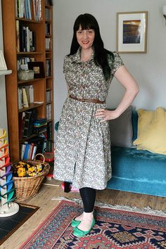Lazy Seamstress: Lisette Traveller Dress (Simplicity K2246)