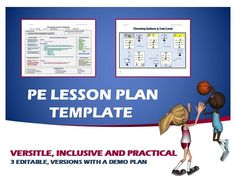 Physical Education Lesson Plan Template