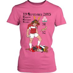 Rugby World Cup 2015 - Japan's Triumph - Women(black text) Rugby World Cup, Japan, Mens Tops, T Shirt, Black, Women, Supreme T Shirt, Tee, Black People