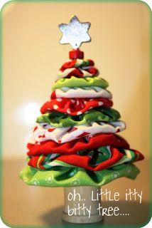 Yo Yo Christmas Tree Tutorial (my Girls will love doing this!)