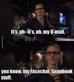 "#Arrow 5x10 ""Who Are You?"" - Felicity"