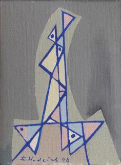 Hudeček František (1909–1990) | A Head, 1946 | Aukce obrazů, starožitností | Aukční dům Sýpka Auction, Art, Craft Art, Kunst