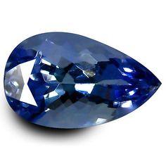 Tanzanite 4195: 1.04 Ct Aaa Best Pear Shape (8 X 5 Mm) Bluish Violet Tanzanite Natural Gemstone -> BUY IT NOW ONLY: $34.99 on eBay!