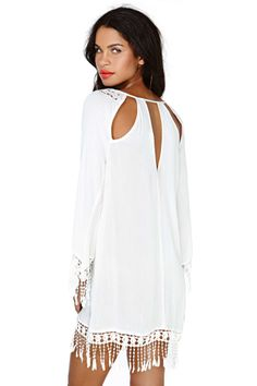 Fringe Benefits Dress | Shop Festival Shop at Nasty Gal