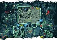 Artists Illustrate Their Memories Of Video Games Past - Neatorama