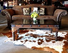 Western Brown Suede Sofa for pics from Shag Carpet Prop Rentals http://www.shagcarpetprops.com/SearchResults.asp?Search=suede=0=0 Thanks for pinning us!