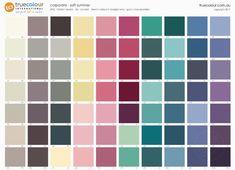 TCI Soft Summer corporate palette