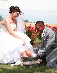 Having A Christian Wedding Ceremony Consider Doing Foot Washing For More Beautiful Christ Centered Ideas Visit Our Website